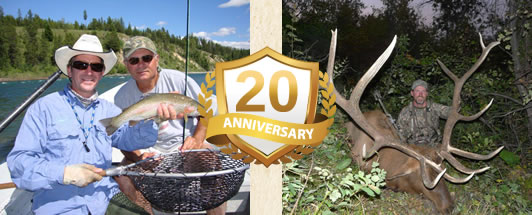 Fishing and Hunting guides for Montana 20 years